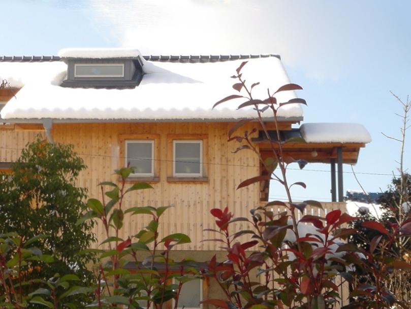 個人住宅 愛知県 2004の部屋 杉板張りの外観
