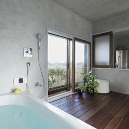 千葉・バスキッチンの家-富士見風呂