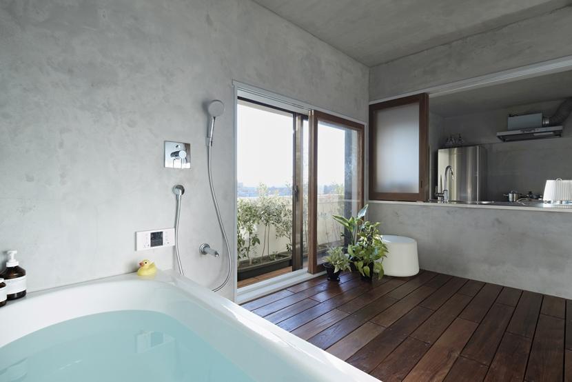 千葉・バスキッチンの家の部屋 富士見風呂