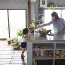 子供が自然に手伝うキッチン