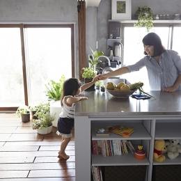 千葉・バスキッチンの家
