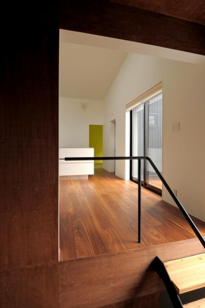 東向島スキップフロアの家 (階段)