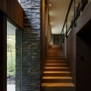 O山荘の写真 階段