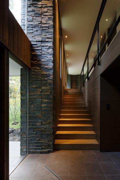 階段 (O山荘)