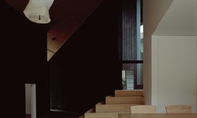 城ヶ崎海岸の家 (明暗と素材の変化による多様性)