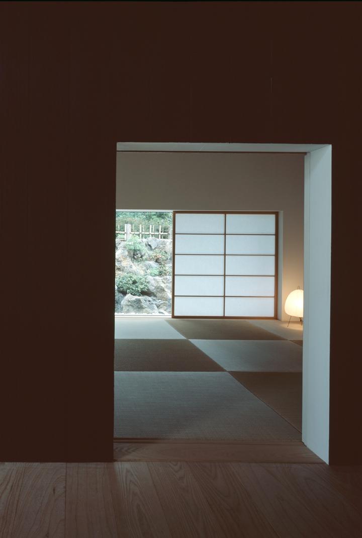 城ヶ崎海岸の家の部屋 お篭り感のある畳の間