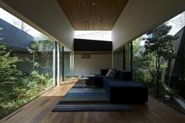 東村山の家 (雑木林の中のソファー)