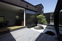 富士見ヶ丘の家 (濡れ縁と坪庭のある風景)