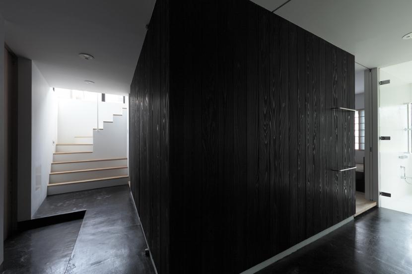 貫井の家の写真 回遊動線が作り出す可変性の高い空間