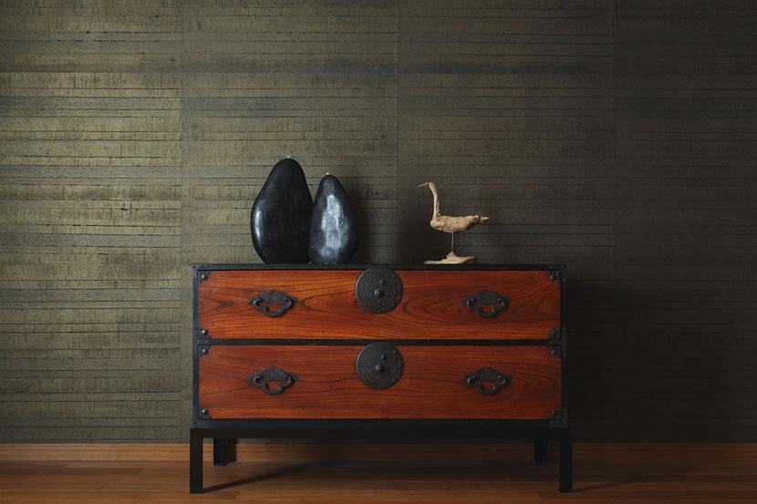 碑文谷・時層の家の写真 米沢簞笥のあるダイニング