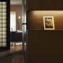 透ける和紙建具のある廊下