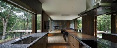 キッチン1 (O山荘)