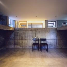 「4-コ ハウス」8坪の小さな家 (地下室)