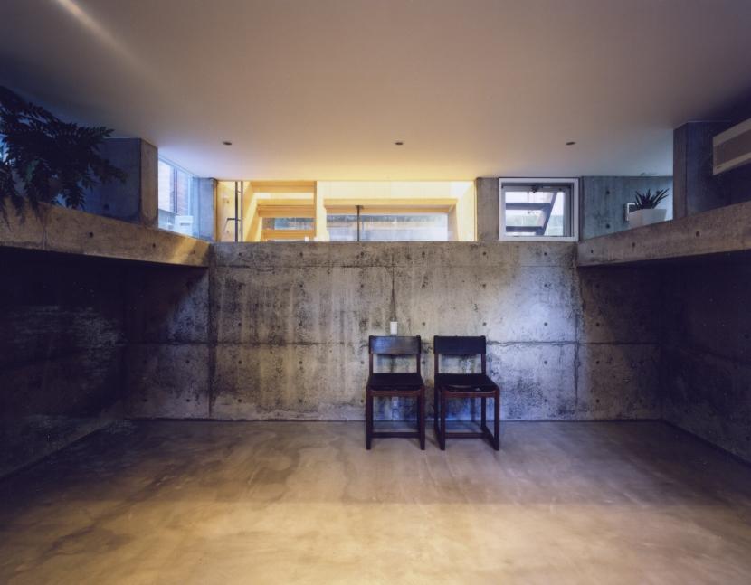 「4-コ ハウス」8坪の小さな家の部屋 地下室