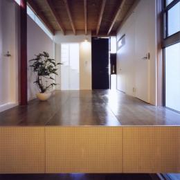 「4-コ ハウス」8坪の小さな家 (1階玄関ホール)