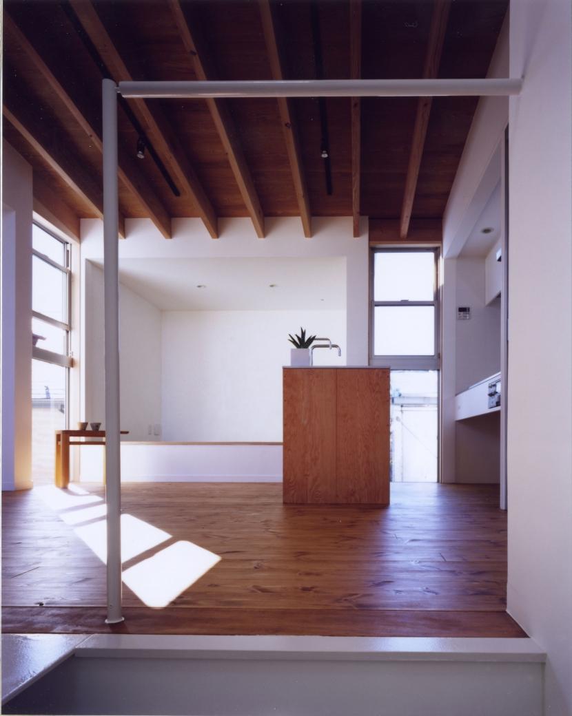 「4-コ ハウス」8坪の小さな家の部屋 リビング・ダイニング