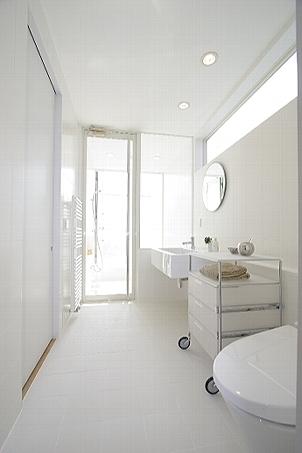 White cubeの写真 洗面室