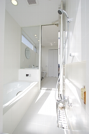 White cubeの写真 バスルーム