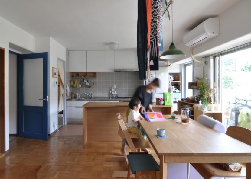 リノベーション・リフォーム会社:エキップ「木のぬくもりに囲まれた三鷹の家」