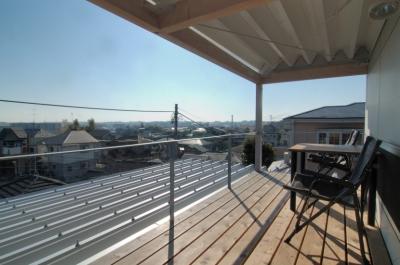 G邸・高台の家 (2Fデッキの眺望)