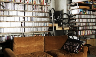 マンションリノベーション|名古屋市東区K邸 (天井までの本棚の裏は秘密のロフト)