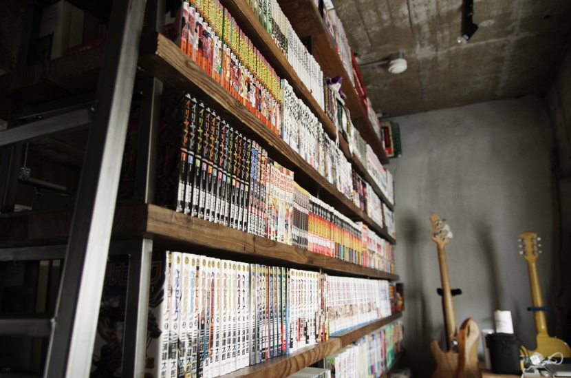 マンションリノベーション|名古屋市東区K邸の部屋 趣味にあふれたロフト