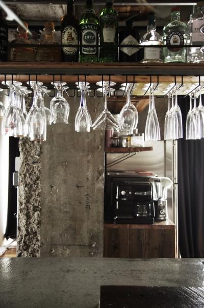 グラス収納 (マンションリノベーション|名古屋市東区K邸)
