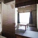 マンションリノベーション|名古屋市東区K邸の写真 小上がりの畳スペース