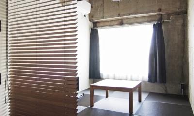 小上がりの畳スペース|マンションリノベーション|名古屋市東区K邸