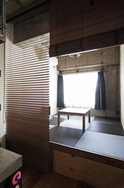 マンションリノベーション 名古屋市東区K邸 (小上がりの畳スペース)