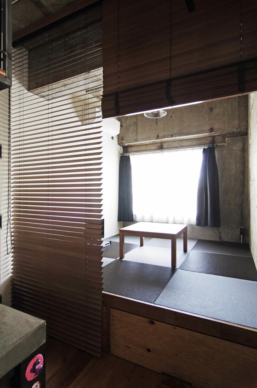 マンションリノベーション|名古屋市東区K邸の部屋 小上がりの畳スペース