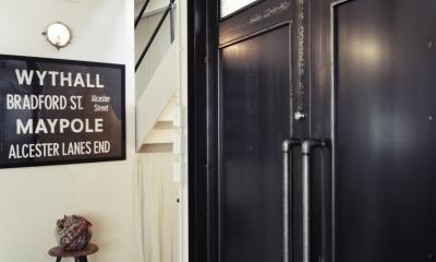一戸建てリノベーション|名古屋市瑞穂区K邸 (オリジナルのスチールドア)
