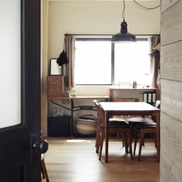 一戸建てリノベーション|名古屋市瑞穂区K邸 (リビング)