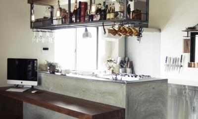 一戸建てリノベーション|名古屋市瑞穂区K邸 (寿司屋のカウンターをリメイク)