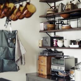 一戸建てリノベーション|名古屋市瑞穂区K邸の写真 キッチン収納