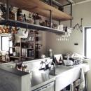 一戸建てリノベーション|名古屋市瑞穂区K邸の写真 業務用キッチン