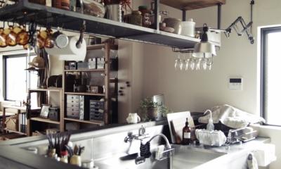 業務用キッチン|一戸建てリノベーション|名古屋市瑞穂区K邸