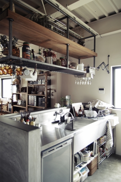一戸建てリノベーション|名古屋市瑞穂区K邸 (業務用キッチン)