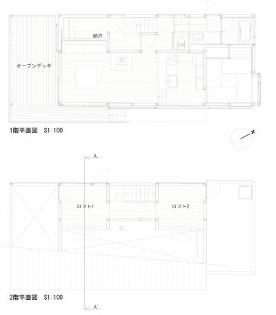 平面図 (いすみの家)