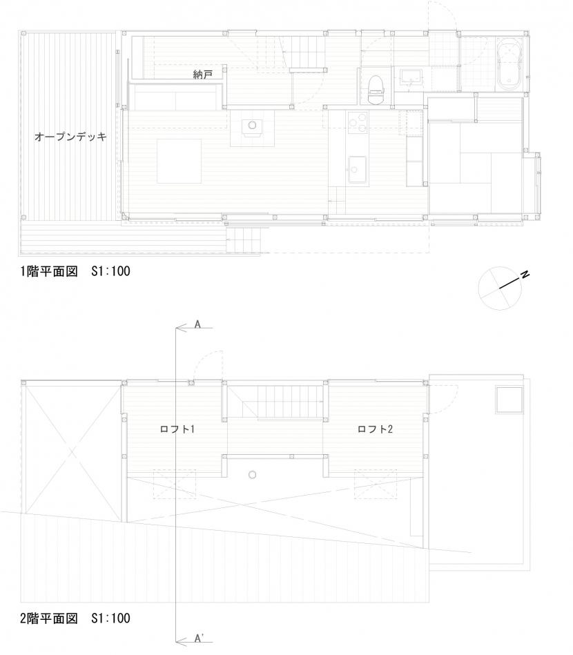いすみの家の写真 平面図