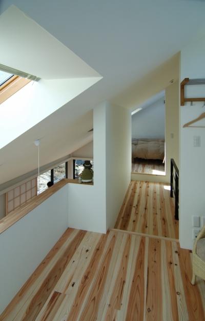 いすみの家 (二階の廊下)