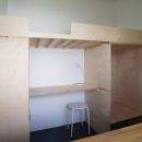 勾配天井の家 -いえづくりワークショップとDIY施工の参加型リノベ-の写真 コロフト