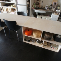 DSテーブル (勾配天井の家)