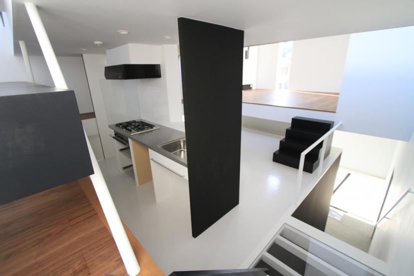 ハコノオウチ03 スモールオフィスのある家の写真 キッチン