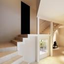 Y山荘の写真 階段2