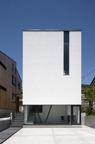 ハコノオウチ03 スモールオフィスのある家 (外観)