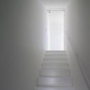 子世帯リビングへの階段