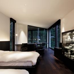 Y山荘 (ベッドルーム1)