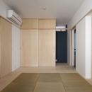 ハコノオウチ05 ルーフバルコニーのある二世帯住宅の写真 親世帯寝室