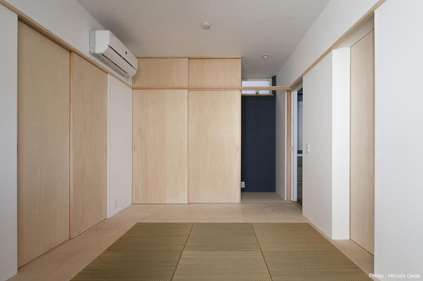 ハコノオウチ05 ルーフバルコニーのある二世帯住宅 (親世帯寝室)